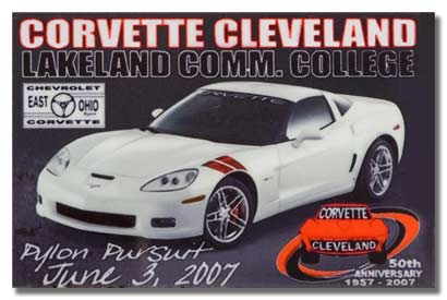 Corvette Lakeland Dash Plaque