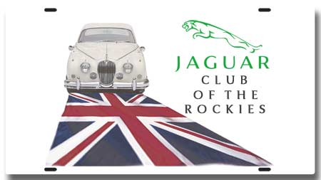 Jaguar Club License Plate