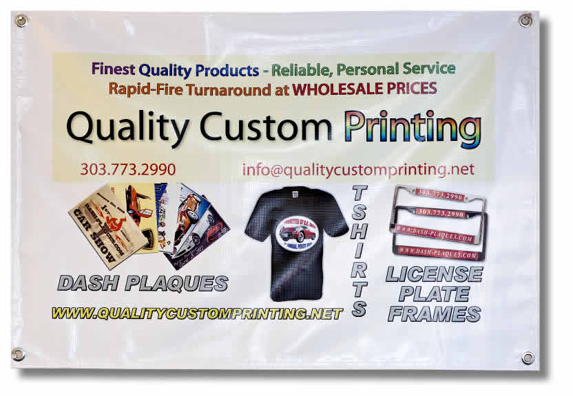 Full-Color Printed Vinyl Banner